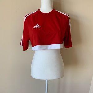 NWT!  Adidas girls athletic crop #885